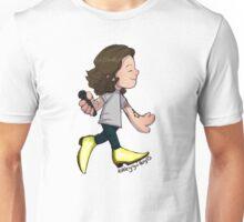 Gold Boots Unisex T-Shirt