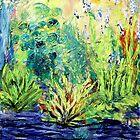 Marsh, original oil painting on canvas by Regina Valluzzi