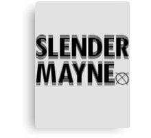 SLENDER GOT YOU SHOOK - BLACK Canvas Print