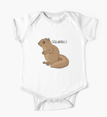 Squirrel Is Squirrel One Piece - Short Sleeve