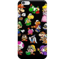 Paper Mario Collection iPhone Case/Skin