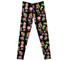 Paper Mario Collection Leggings