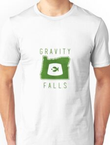Gravity Falls Oregon Unisex T-Shirt