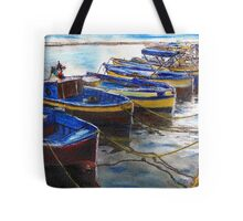 Procida Fishing Boats End of The Day Tote Bag