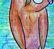 James the Owl Sticker