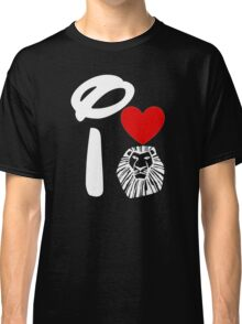 I Heart The Lion King (Inverted) Classic T-Shirt