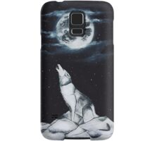 Howling At The Moon Samsung Galaxy Case/Skin