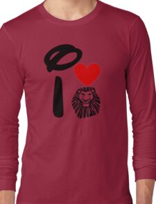 I Heart The Lion King Long Sleeve T-Shirt