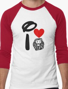 I Heart The Lion King Men's Baseball ¾ T-Shirt