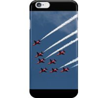 The Red Arrows diamond formation iPhone Case/Skin