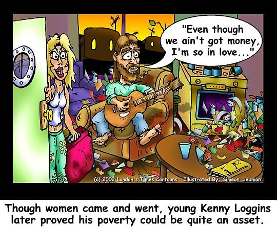 Kenny Loggins, The Early Years by Londons Times Cartoons by Rick  London