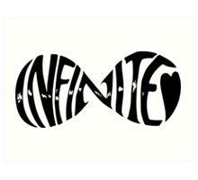Infinite Infinity Art Print