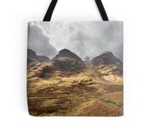 Coire nan Lochan, a corrie of Bidean nam Bian Tote Bag