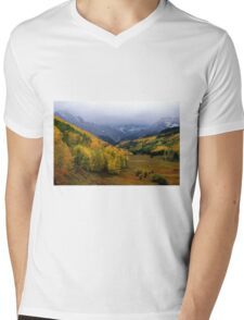 Little Meadow of the Sublime Mens V-Neck T-Shirt