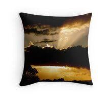 Cloud Bursting Sussex Throw Pillow