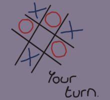 Noughts & Crosses (Tic-tac-toe) (Black Text) Kids Clothes