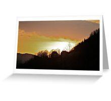Landscape  .Gorce Mountains . Poland. Views (296) thx!!! Greeting Card