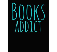 books addict Photographic Print
