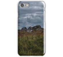 Clouds above the hills iPhone Case/Skin