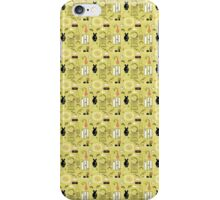Pampar Parlor, yellow iPhone Case/Skin