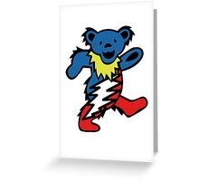Lightning Bear Greeting Card