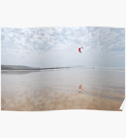 Kite Surfer Poster
