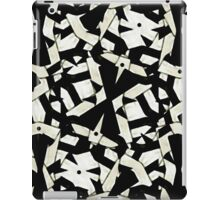 Black and White Abstract Ornament Pattern iPad Case/Skin