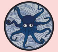 Octopus Blue One Piece - Long Sleeve
