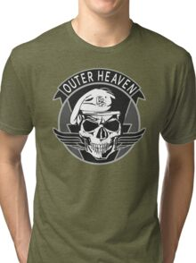 Outer Heaven - 2015 Edition (MGSV) Tri-blend T-Shirt