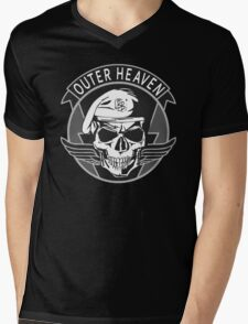 Outer Heaven - 2015 Edition (MGSV) Mens V-Neck T-Shirt