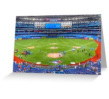 Take Me Out To The Ball Field Greeting Card
