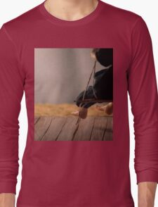 Dry Summers - dollhouse scale porch scene Long Sleeve T-Shirt