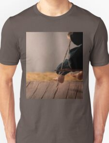 Dry Summers - dollhouse scale porch scene T-Shirt