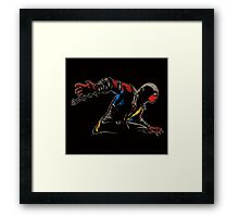Mortal Kombat Spider Framed Print