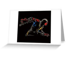 Mortal Kombat Spider Greeting Card