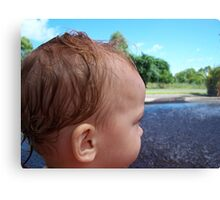 Baby Jac ~ Leanyer Recreation Park NT 2005 Canvas Print