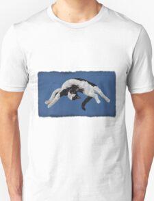 Zorro is watching - Blue Unisex T-Shirt