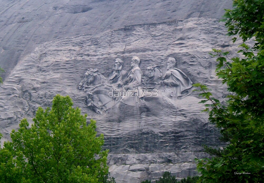 Stone Mountain 004 by dawiz1753