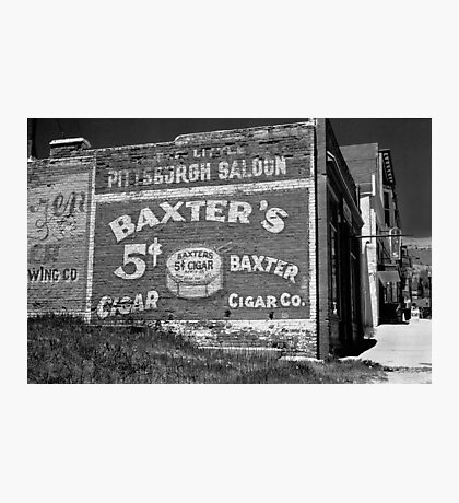 The Little Pittsburg Saloon Photographic Print
