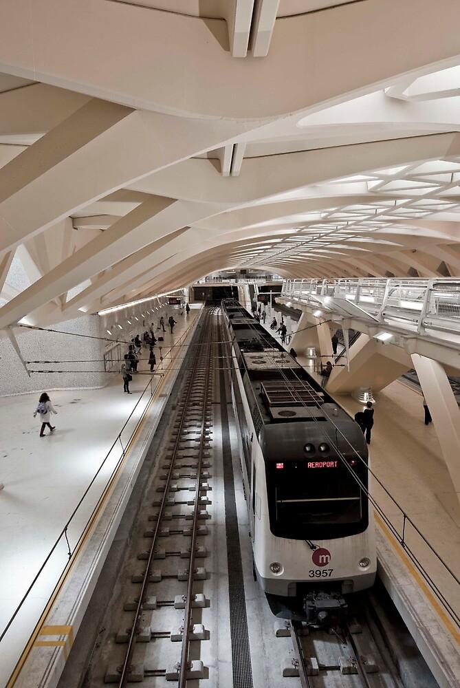 Valencia Metro Station by Adam Dyson