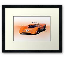 1969 McLaren M8C Racecar Framed Print