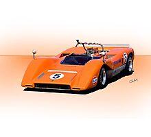1969 McLaren M8C Racecar Photographic Print