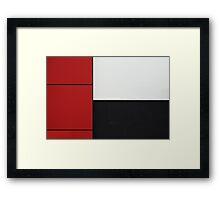 Subtraction Framed Print