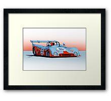 1971 Chevron B19 Racecar Framed Print
