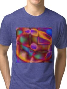 Geometry and Color Tri-blend T-Shirt