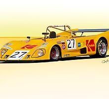 1972 Lola T290 Racecar by DaveKoontz