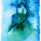 Woman in Blue by Whitney Mattila