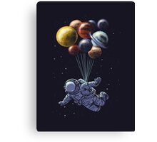 Space Travel Canvas Print