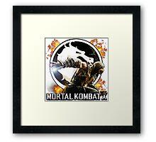 Mortal Kombat X Framed Print