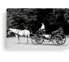 A Taxi Sir Canvas Print